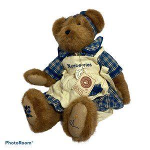 BOYDS Bears MUFFIN B BLUEBEARY Plush Jointed Bear